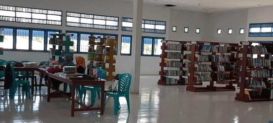Perpustakaan Unismuh Palu Kini Gunakan Digital Library