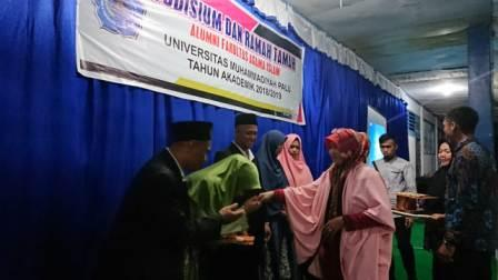 Fakultas Agama Islam Unismuh Palu Lepas 63 Alumni
