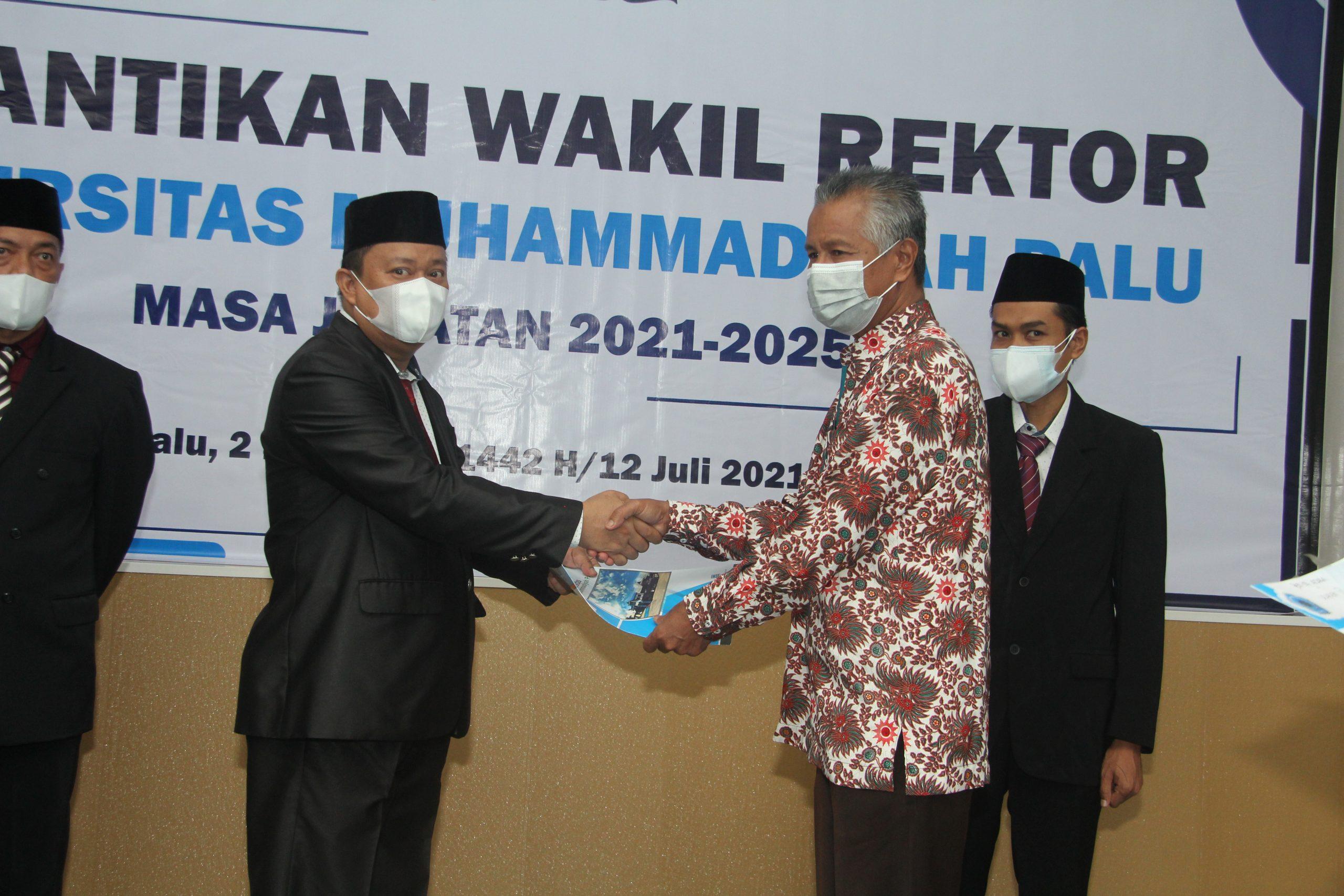 Prof Lincolin : Rektor dan Warek Harus Jalin Komunikasi Aktif