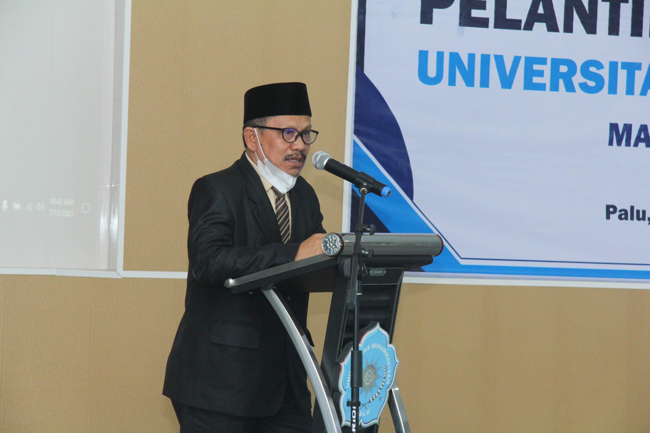 Rektor Unismuh Minta Pimpinan Fakultas Tidak Persulit Mahasiswa